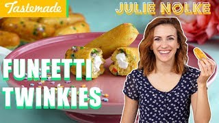 Funfetti Twinkies | 5 Second Rule with Julie by Tastemade