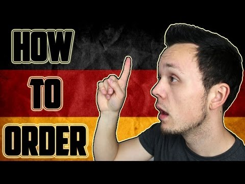 How to Order in Germany   German Culture