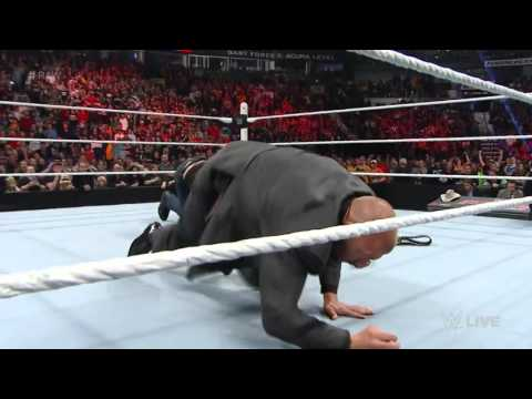 Dean Ambrose Attacks Triple H