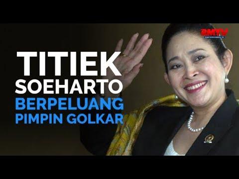 Titiek Soeharto Berpeluang Pimpin Golkar