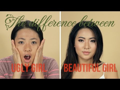 The difference between ugly girl and beautiful girl
