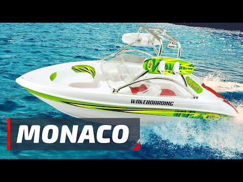 Радиоуправляемый катер Pilotage Monaco