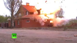 Rosjanie wysadzili dom! – Nielegalnym maczetem!