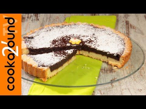 crostata al cioccolato - ricetta
