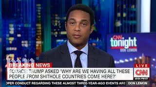 Video CNN and Fox News hosts react to Trump's 'shithole' remark MP3, 3GP, MP4, WEBM, AVI, FLV April 2018