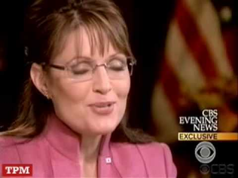 Palin - All the best moments of Sarah Palin interviews, starring Sarah Palin, Charlies Gibson, Katie Couric, Sean Hannity, and special guest appearance from John McCain himself.