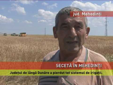Județul Mehedinți, afectat de secetă