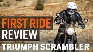 1. 2017 Triumph Scrambler First Ride Review at RevZilla.com