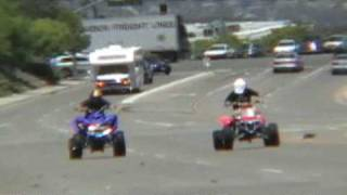 10. Banshee 400 STROKED vs. Yamaha Raptor 700 TURBO (ATV STREETRACE)