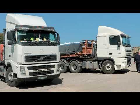 إجراءات شرطة معبر كرم أبو سالم في تسهيل مهام التجار وحركة البضائع الصادرةوالواردة إلى قطاع غزة