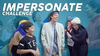 Video Kocakk!! Impersonate Challenge Gen Halilintar MP3, 3GP, MP4, WEBM, AVI, FLV Juni 2019