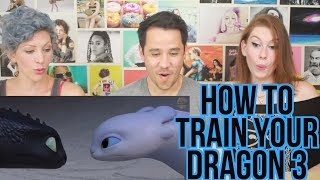 Video How To Train Your Dragon 3 -  Trailer  - REACTION MP3, 3GP, MP4, WEBM, AVI, FLV Juni 2018