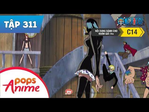 One Piece Tập 311 - Cuộc Tấu Thoát Ngoạn Mục! Chiến Thắng Thuộc Vê Hải Tặc - Phim Đảo Hải Tặc - Thời lượng: 26 phút.