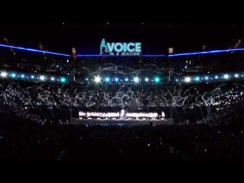 Sweet Child of Mine- Voice in a Million- 7,500 children Live at the O2.mov