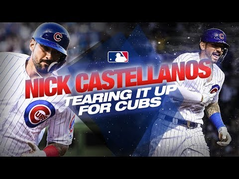 Video: Nick Castellanos - ON FIRE since joining Chicago Cubs