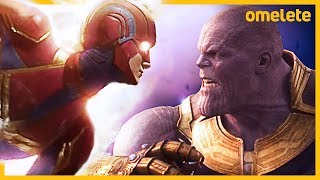 THANOS vs CAPITÃ MARVEL: O DUELO DE VINGADORES ULTIMATO