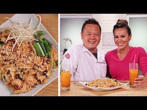 How to Make Pad Thai With Jet Tila   Asian Recipes   POPSUGAR Cookbook