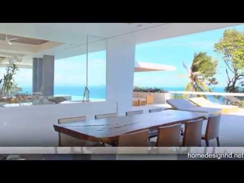 Hilltop Modern Villas; Amazing Celadon Residence, Maenam, Koh Samui, Thailand [HD]