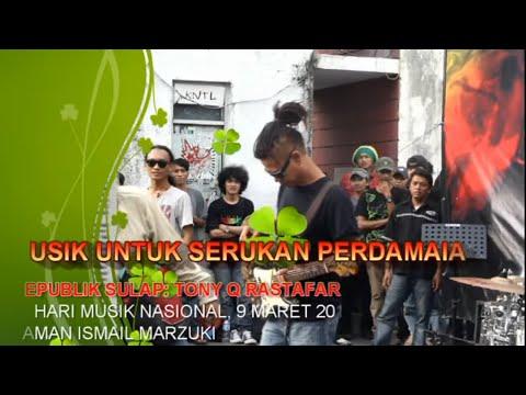Video TONY Q RASTAFARA, LAGU REPUBLIK SULAP DI HARI MUSIK 2015 download in MP3, 3GP, MP4, WEBM, AVI, FLV January 2017