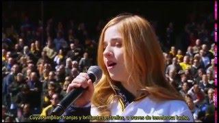 Nonton Jackie Evancho - Himno Nacional Americano 2016 (Subtitulado) Film Subtitle Indonesia Streaming Movie Download