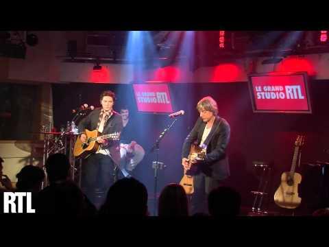 Sur la route en live avec Raphael et Jean-Louis Aubert sur RTL - RTL - RTL (видео)