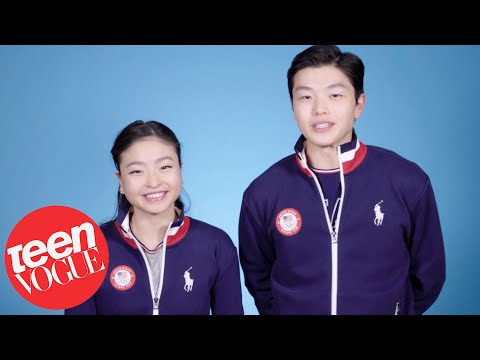 How Young Olympians Train for the Winter Olympics   Teen Vogue