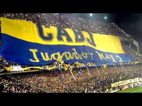 Boca 1 - 1 Corinthians - Recibimiento en la bombonera (Salida de Boca, fuegos artificiales y la 12) - La 12 - Boca Juniors