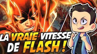 Video LA VRAIE VITESSE DE FLASH !!!!!! MP3, 3GP, MP4, WEBM, AVI, FLV Oktober 2017