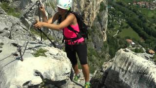 Rafting Itálie - Rafting akurz na ferratách vDolomitech, relax na Lago di Garda - Video