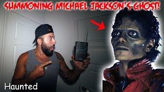 Video (RARE) SUMMONING MICHAEL JACKSON'S GHOST ON A SPIRIT BOX AT HIS HAUNTED MANSION MP3, 3GP, MP4, WEBM, AVI, FLV Agustus 2019
