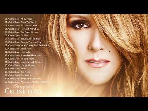 Celine Dion Greatest Hits Full Album Live 2018 - Best Of Celine Dion