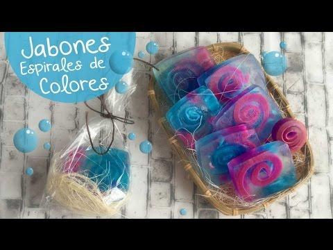 Jabones Espiral :: Cómo hacer Jabones DIY Soap :: Chuladas Creativas
