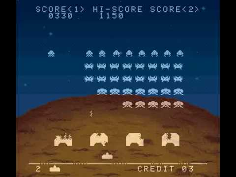 Space Invaders Super Nintendo