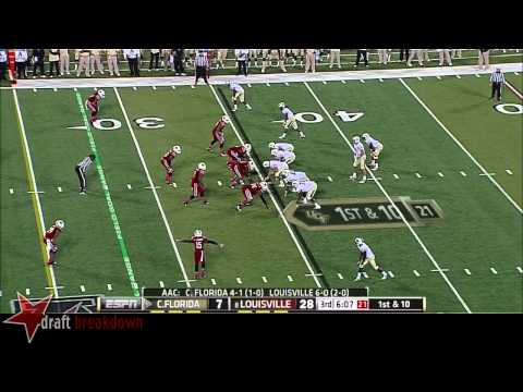 Lorenzo Mauldin vs Central Florida (UCF) 2013 video.