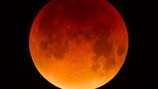 Timelapse éclipse de Lune du 28 septembre 2015