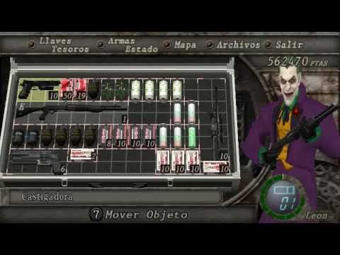 resident evil 4 PC -  PLAY AS JOKER