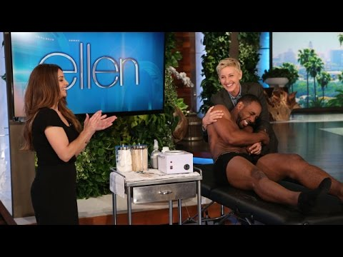 TheEllenShow - It takes a lot to play a stripper in the sequel to