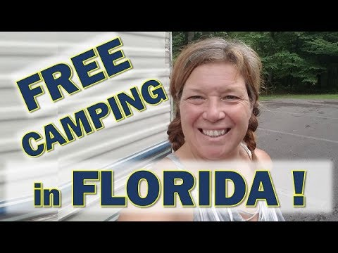 Free RV and Tent Camping in Florida