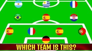 Video Which team is this? (Part 1) ⚽ Football Quiz 2018 MP3, 3GP, MP4, WEBM, AVI, FLV Desember 2018