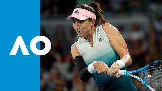Timea Bacsinszky v Garbiñe Muguruza match highlights (3R) | Australian Open 2019