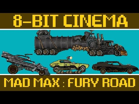 Mad Max Fury Road Retold as an OldSchool 8Bit