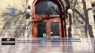 209-167 Bannatyne Avenue Winnipeg