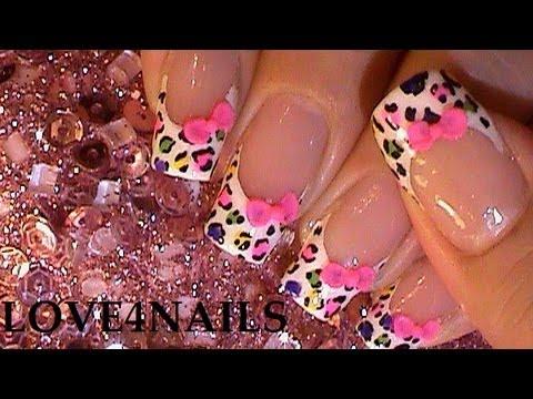decorar uñas - Link Para Mi Canal En Ingles : http://www.youtube.com/user/LOVE4NAILS?feature=watch Hola ! Feliz Viernes ~ Este diseño de arte de uñas lo trabaje hace varios...