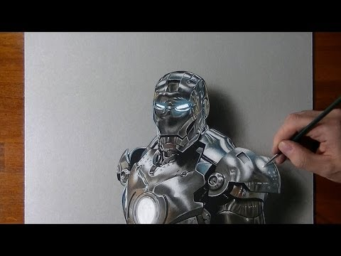 傻眼~!這3D「鋼鐵人」竟然是畫出來的!
