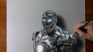 This Hyperrealistic Drawing Of Ironman Totally Blew Me Away!