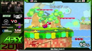 aMSa vs. Leffen at Apex 2015 Group Analysis (Match 1/2)