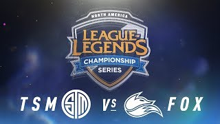 Video TSM vs. FOX - Week 6 Day 1 | NA LCS Spring Split | TSM vs. Echo Fox (2018) MP3, 3GP, MP4, WEBM, AVI, FLV Juni 2018