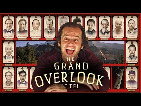 Wes Anderson s The Shining  nbsp A Mashup of Wes Anderson  s  The Grand Budapest Hotel Stanley Kubrick  s  The