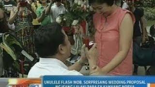 NTG: Ukulele Flash Mob, Ginamit Na Rin Sa Wedding Proposal