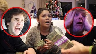 WINNING $20000 IN LAS VEGAS FOR HER CHRISTMAS GIFT!!